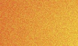 Fondo arancio di pendenza di colore e punti rotondi Illustrazione EPS10 di vettore Immagine Stock