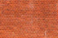Fondo arancio di struttura del muro di mattoni Fotografia Stock Libera da Diritti