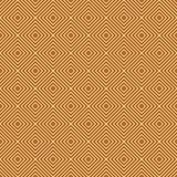 Fondo arancio e bianco di ripetizione del modello delle mattonelle dei diamanti Immagine Stock