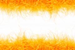 Fondo arancio lanuginoso Fotografia Stock Libera da Diritti