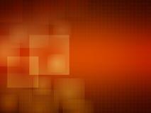 Fondo arancio molle Immagine Stock