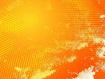 Fondo arancio soleggiato caldo Fotografie Stock Libere da Diritti