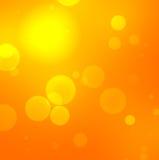 Fondo arancio vago con i profili concentrici royalty illustrazione gratis
