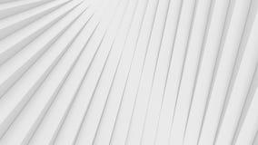 Fondo architettonico astratto bianco Fotografia Stock
