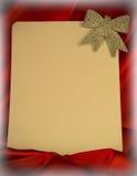 fondo Ardente-rosso per le congratulazioni sul Natale e sul nuovo YE Immagini Stock Libere da Diritti