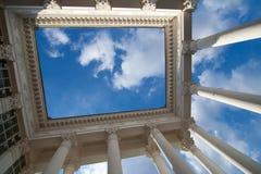 Fondo arquitectónico Imágenes de archivo libres de regalías