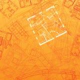 Fondo arquitectónico abstracto
