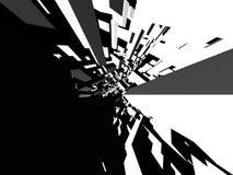 Fondo arquitectónico abstracto ilustración del vector