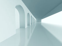 Fondo arquitectónico abstracto del diseño de la columna stock de ilustración