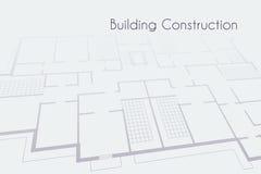 Fondo arquitectónico del vector Imagenes de archivo