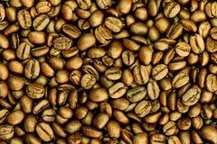 Fondo arrostito dei chicchi di caffè di Brown immagine stock