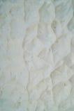 Fondo arrugado blanco Foto de archivo
