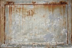Fondo arrugginito astratto di struttura del metallo Fotografia Stock Libera da Diritti