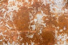 Fondo arrugginito del metallo - metallico arrugginito Fotografie Stock Libere da Diritti