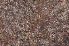 Fondo arrugginito indossato scuro di struttura del metallo Vecchia erosione su acciaio Fotografia Stock Libera da Diritti