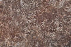 Fondo arrugginito indossato scuro di struttura del metallo Vecchia erosione su acciaio Immagini Stock
