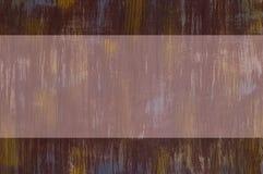 Fondo arrugginito verticale del metallo con un posto per un'iscrizione Immagini Stock Libere da Diritti