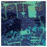 Fondo artístico abstracto ilustración del vector