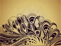Fondo artístico abstracto de Pascua Imagen de archivo