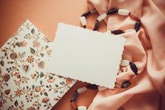 Fondo artístico con el spcace vacío de la copia, paleta anaranjada Fotografía de archivo libre de regalías