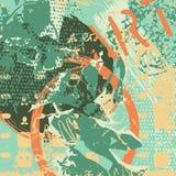 Fondo artístico de Abstact Fotografía de archivo libre de regalías