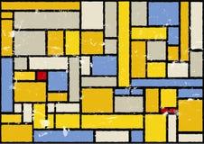 Fondo artístico del color stock de ilustración