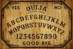 Fondo Art Ouija Board Fotografía de archivo