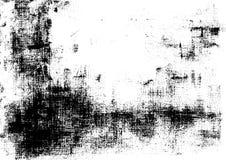 Fondo artistico della polvere del carbonio illustrazione vettoriale