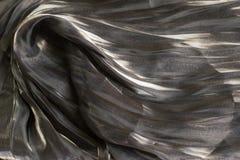 Fondo artistico scuro di struttura del tessuto/textur artistico del tessuto fotografia stock libera da diritti