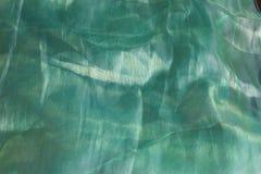 Fondo artistico verde di struttura del tessuto/textu artistico del tessuto immagini stock libere da diritti