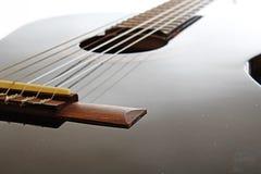 Fondo artsy del POV de la guitarra Ejemplo de la música imagen de archivo libre de regalías
