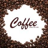 Fondo asado de los granos de café Foto de archivo libre de regalías