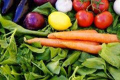 Fondo asiático de las verduras Consumición sana Fotos de archivo libres de regalías