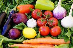 Fondo asiático de las verduras Consumición sana Fotografía de archivo