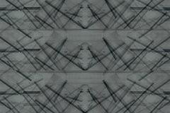 Fondo asimmetrico astratto delle plance di legno Strisce d'intersezione del modello minimalistic astratto Fondo grigio fotografie stock