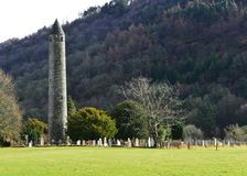 Fondo asombroso de Wicklow, Irlanda Foto de archivo