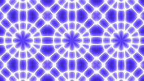 Fondo astratto al neon del caleidoscopio royalty illustrazione gratis