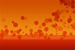 Fondo astratto arancio Fotografie Stock