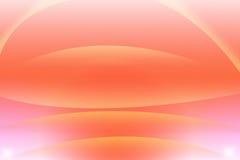 Fondo astratto arancio con il cerchio fotografia stock