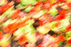 Fondo astratto arancio e giallo Fotografia Stock Libera da Diritti
