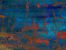 Fondo astratto in base alla pittura misera di struttura Fotografia Stock