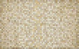 Fondo astratto beige del mosaico Fotografie Stock