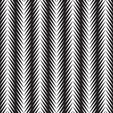 Fondo astratto in bianco e nero di arte op del triangolo illustrazione di stock
