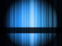 Fondo astratto blu Fotografie Stock Libere da Diritti
