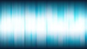 Fondo astratto blu con le bande brillanti verticali illustrazione vettoriale