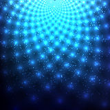 Fondo astratto blu cosmico Immagine Stock Libera da Diritti