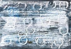 Fondo astratto blu dell'acquerello di Colombia Immagine Stock