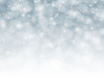 Fondo astratto blu di festa di Natale di inverno della neve Immagine Stock Libera da Diritti