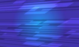 Fondo astratto blu futuristico del taglio Illustrazione Vettoriale
