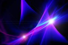 Fondo astratto, blu, rosa, porpora, scintillio, effetto della luce o Fotografie Stock
